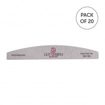 Glitterbels Nail File 180 Grit Pack Of 20