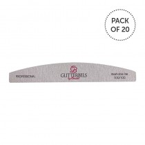 Glitterbels Nail File 100 Grit Pack Of 20
