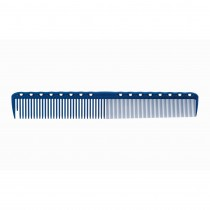 YS Park YS 336 Quick Fine Tooth Comb Blue