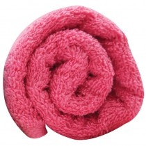 Lotus Pop Shots Hair Towels Hot Pink x12