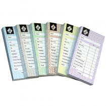 Agenda Checkpads Assorted x 12