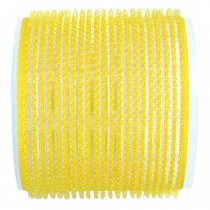 Jumbo Velcro Rollers Yellow 66mm x 6