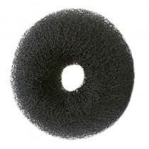 Synthetic Hair Bun Ring Black