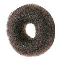 Synthetic Hair Bun Ring Dark Brown
