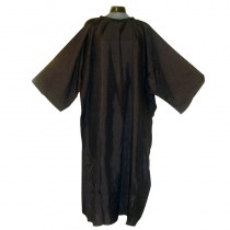 Salons Direct Crinkle Nylon Cutting Gown/Sleeve Black