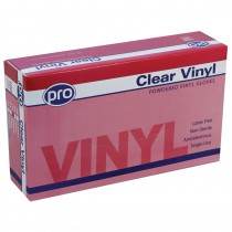Pro Disposable Vinyl Gloves 50 Pairs
