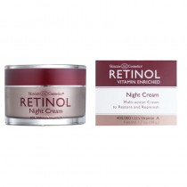 Retinol Vitamin A Night Cream (White Top) 50g