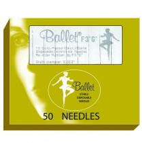 Ballet Gold Palted Needles F2 002 (x50)