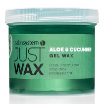 Just Wax Aloe Vera + Cucumber Gel Wax 450g