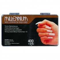 Millennium Square Nail Tips Box of 400