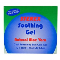 Sterex Natural Aloe Vera Soothing Gel 35ml x 10