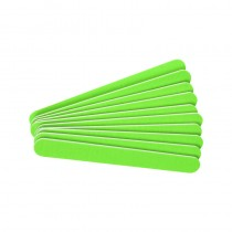 The Edge Neon Green File 240/240 Grit  (Pack of 10)