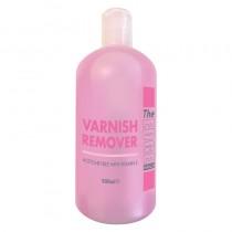The Edge Varnish Remover with Vitamin E + Geranium Oil 500ml