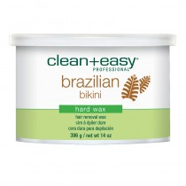 Clean + Easy Brazilian Bikini Hard Wax 14oz/396g