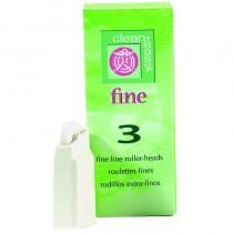 Clean + Easy Fineline Fine Roller Head (x3)