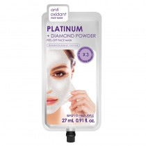 Skin Republic Platinum Peel Off Face Mask 27ml (3 Uses)