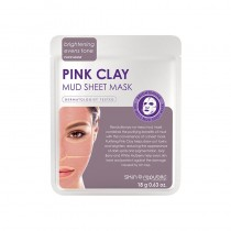 Skin Republic Pink Clay Mud Sheet Face Mask 18ml