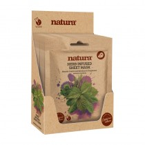BeautyPro Natura HERB INFUSED Sheet Mask Box Of 12