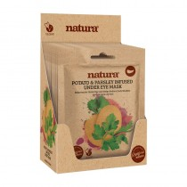 BeautyPro Natura POTATO & PARSLEY INFUSED Under Eye Mask Box Of 12