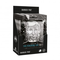 BARBER PRO Skin Renewing Foil Mask Display Case Of 12