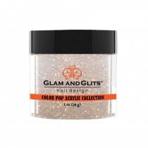 Glam And Glits Color Pop Acrylic Collection White Sand 28g