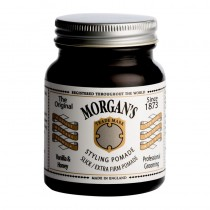 Morgans Vanilla & Honey Pomade Extra Firm Hold 100g (white label)