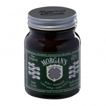 Morgans Matt Pomade Low Shine/ Firm Hold 100g Jar (green label)