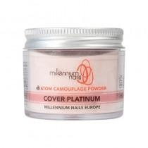 Millennium Atom Camouflage Acrylic Powder Cover Platinum 50g