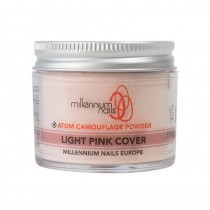 Millennium Atom Camouflage Acrylic Powder Light Pink Cover 50g