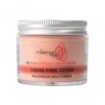 Millennium Atom Camouflage Acrylic Powder Warm Pink Cover 50g