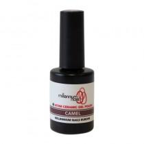Atom Ceramic Gel Polish Camel 15ml by Millennium Nails