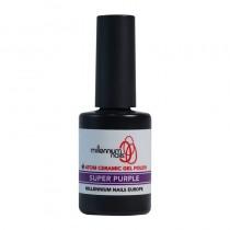 Atom Ceramic Gel Polish Super Purple 15ml by Millennium Nails