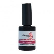 Atom Ceramic Gel Polish Neon Pink 15ml by Millennium Nails