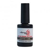 Atom Ceramic Gel Polish Coffee Cake 15ml by Millennium Nails