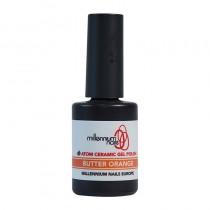 Atom Ceramic Gel Polish Butter Orange 15ml by Millennium Nails