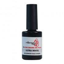 Atom Ceramic Gel Polish Ultra White 15ml by Millennium Nails