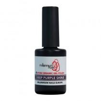 Atom Ceramic Gel Polish Deep Purple Shine 15ml by Millennium Nails