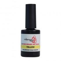 Atom Ceramic Gel Polish Yellow 15ml by Millennium Nails