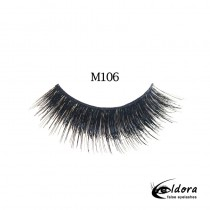 Eldora Multi-Layered Strip Lashes M106