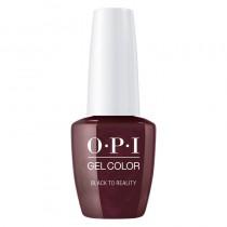 OPI Gelcolor Black to Reality Christmas Nutcracker 15ml