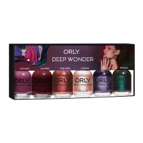 Orly 6pc Lacquer Kit Deep Wonder Collection