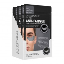 Skin Republic Men's Caffeine Under Eye Patches 3 Pairs Pack Of 10