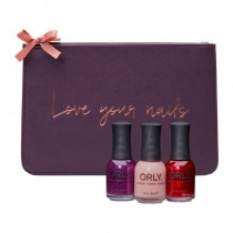 Orly Christmas Gifts Mulberry Plum Clutch