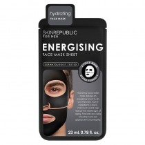 Skin Republic Mens Energising Face Mask Sheet 23ml