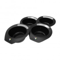Prism Pot Goggled Eyed Grey Pack of 4 Tint Bowls