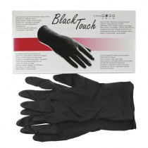 Black Touch Glove x 5 Pairs Large