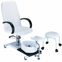 Lotus Pedicure Station + Stool