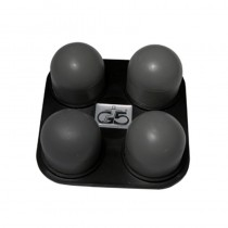 Carlton No.16 Head Four-Ball Firm Rubber for G5 Massager