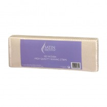 Satin Smooth Woven Fabric Waxing Strips (Pack of 100)