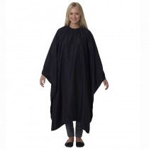 Salons Direct Water Repellent-Static Free Cutting Gown Black